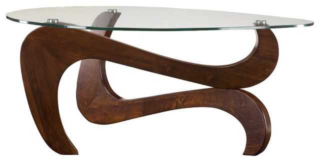 Nassau Glass Coffee Table Coffee Tables Other By Raymour