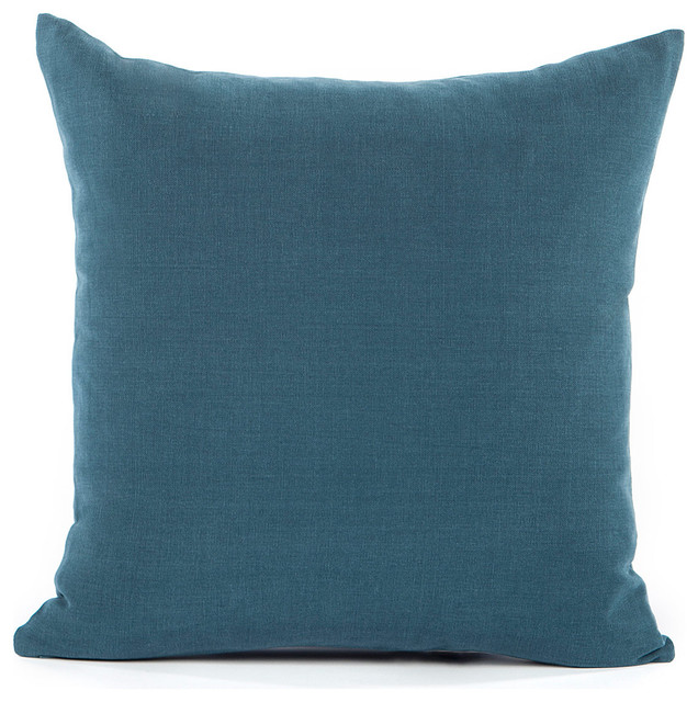 Monty Throw Pillow Cover, Navy.