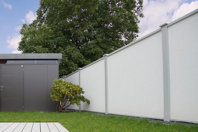 sichtschutz und l rmschutz modern sonstige von. Black Bedroom Furniture Sets. Home Design Ideas