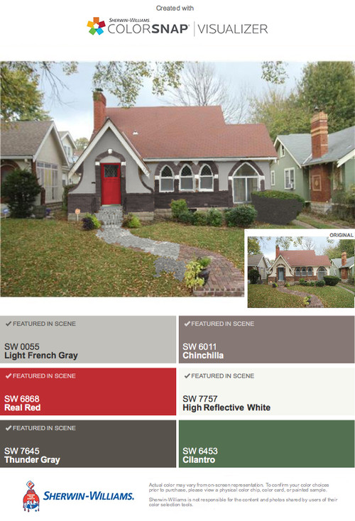 Pictures of tudor house colors