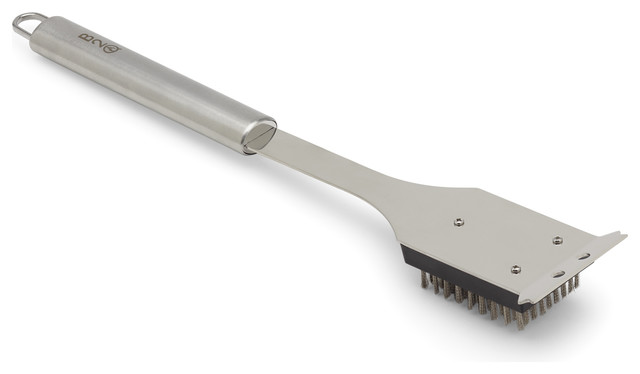Stainless Steel Grill Brush.