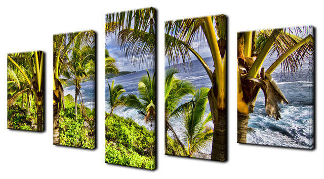 Ready2hangart 'Overhang' 5-piece Canvas Wall Art