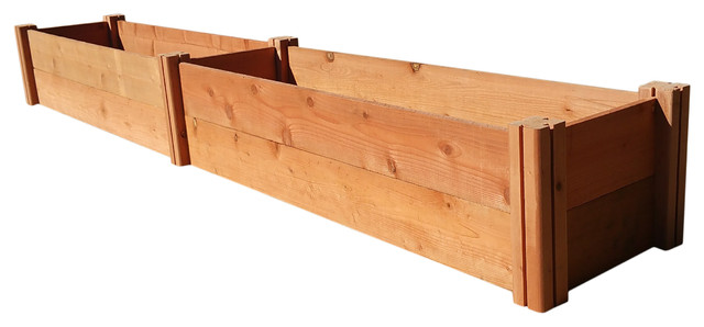 Grogardens 1 X8 X11 Redwood Raised Garden Bed