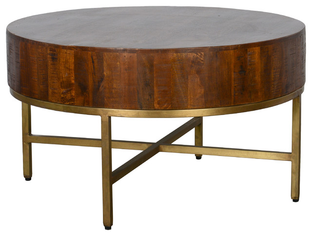 Montreal 32 Round Coffee Table By Kosas Home