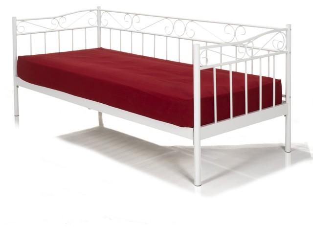 tamise new lit banquette en m tal 90x200cm contemporain lit de jour par alin a mobilier d co. Black Bedroom Furniture Sets. Home Design Ideas