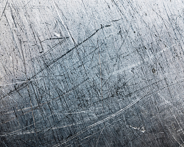 Scratched Metal Wall Mural. -1