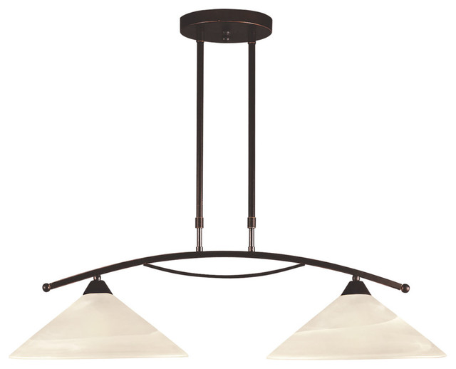 oil rubbed bronze kitchen lighting elysburg 2 light island contemporary kitchen island 7150