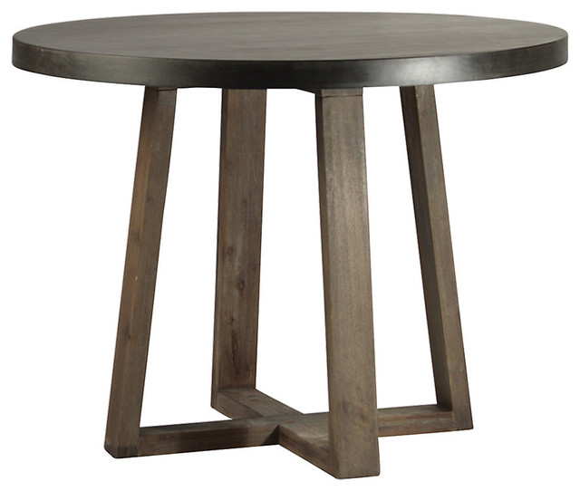 Padel Round Table Transitional Dining Tables by  : transitional dining tables from www.houzz.com size 640 x 542 jpeg 48kB