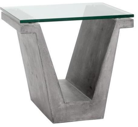 Clemens End Table Industrial Side Tables And End Tables By Basin And Vessel