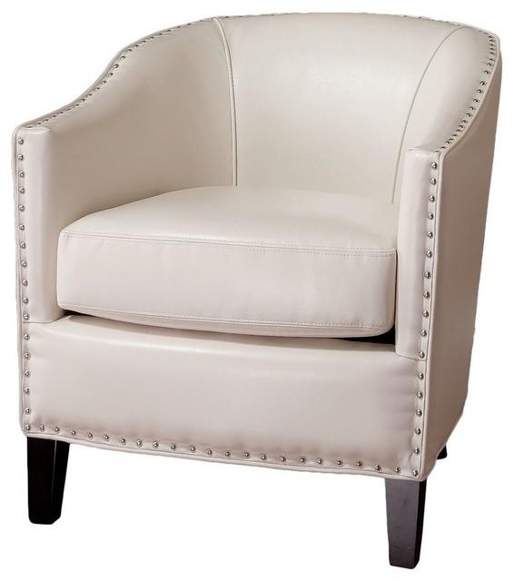 Gdf Studio Carlton Tub Design Club Chair With Nailheads