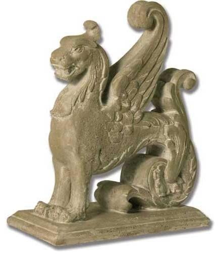 Griffin Carving 15 Gargoyle Sculpture