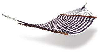 Hammaka Pillow Hammock, Blue / White