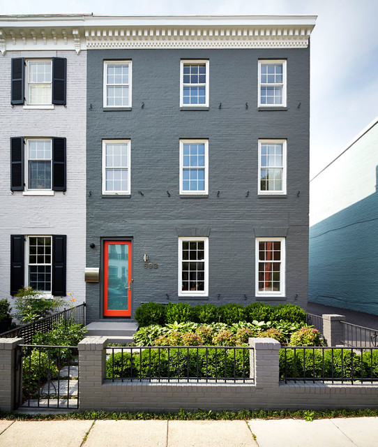Inspiration for a contemporary home design remodel in DC Metro