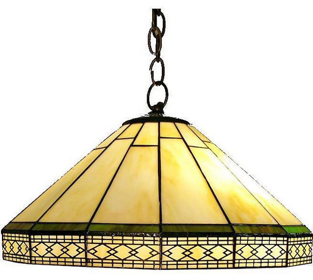 Tiffany-style Roman Hanging Lamp