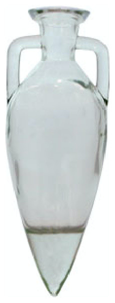 Couronne Co. Amphora Recycled Glass Bottle, 33.8oz