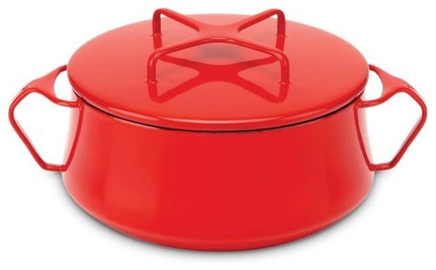 Dansk Kobenstyle 2 Qt Casserole- Chili Red