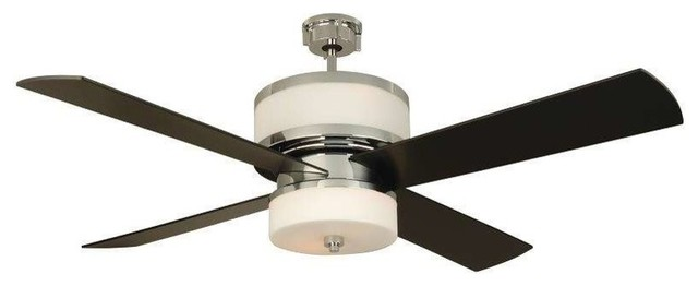 "Craftmade Mo56ch4 Midoro 56"" Ceiling Fan, Remote And Light Kit."