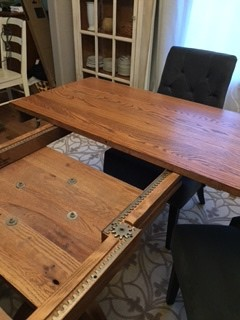 I Just DIYu0027d A New Dining Table Leaf For $12 And 45 Minutes!!