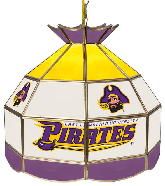 """NCAA Tiffany Gameroom Lamp, 16"""""""