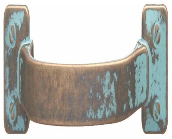 zinc hafele handle rustic copper