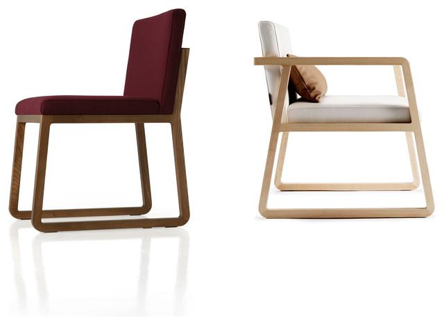 Silla midori contempor neo sillas de comedor de sancal for Lo ultimo en sillas de comedor