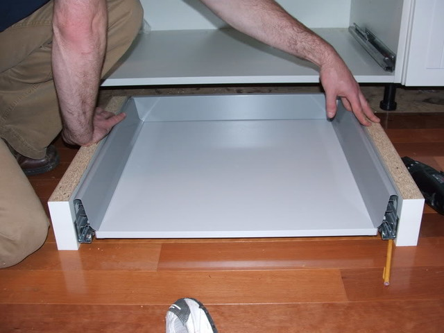 How To Add Toe Kick Drawers For More Storage