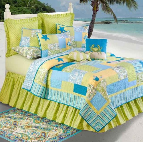 Beach Bum Standard Bedding Set | OceanStyles.com