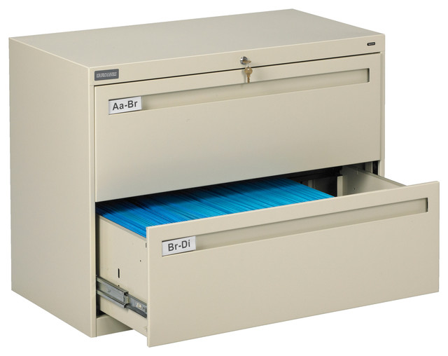 42 Quot 2 Drawer Lateral File Cabinet Contemporary Filing