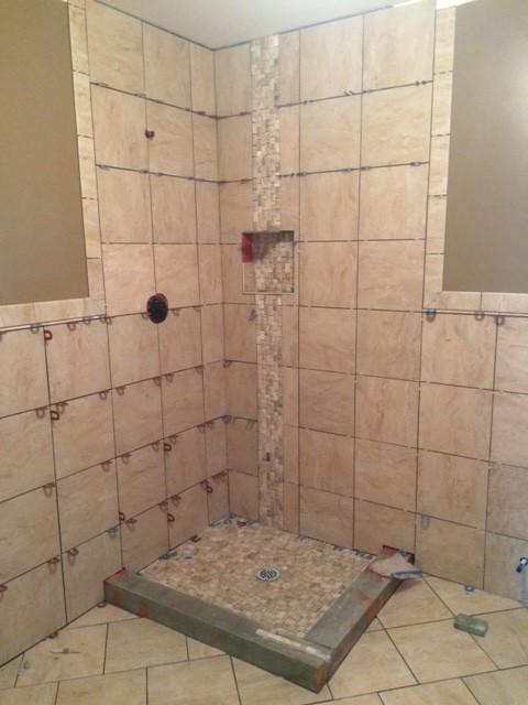 Help With Bathroom Bullnose And Shower Door