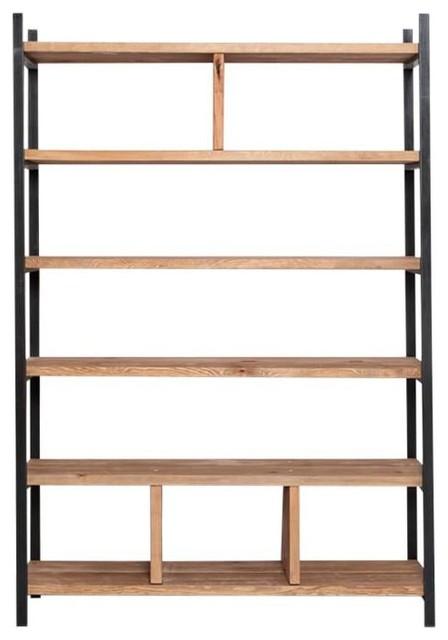 Susteren Black Shelving Unit, 150x200x30 cm