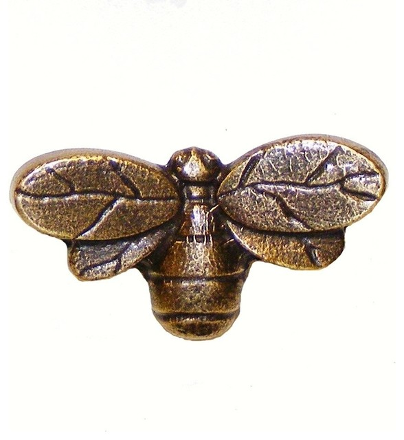 Bee Cabinet Knob - Rustic - Cabinet And Drawer Knobs - by Buck ...