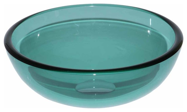 The Renovator 39 S Supply Inc 13769 Vessel Sinks Blue Glass Piccolo Round Mini Reviews Houzz