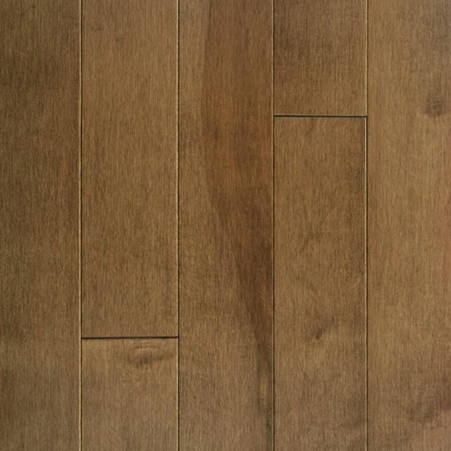 "5"" Maple Northplank Solid Hardwood Flooring, Praline."