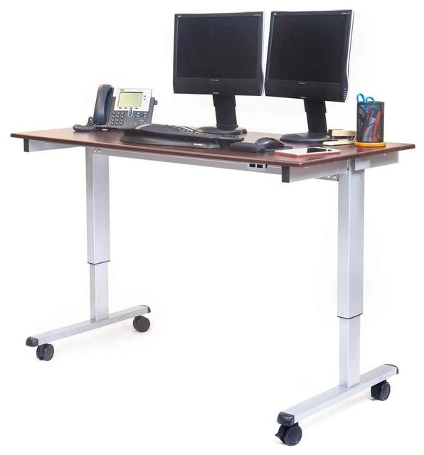 Electric Standing Desk Desks And Hutches By Shopladder