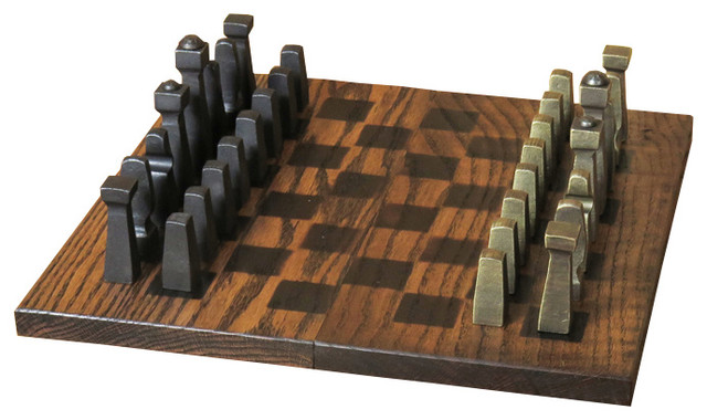 Blacksmith Chess Set, Pieces Only