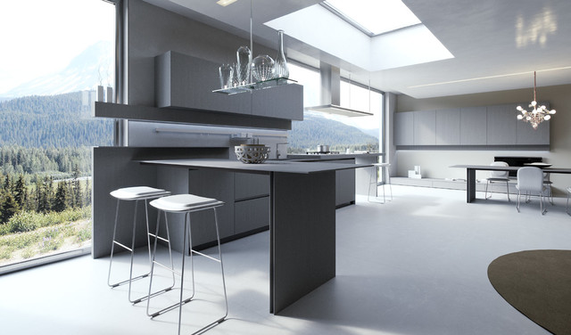 Arrital Cucine Won 2012 GOOD DESIGN Award Modern Kitchen