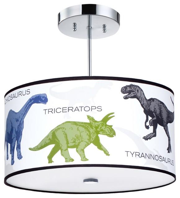 Dinosaur Light Fixture Contemporary Kids Ceiling