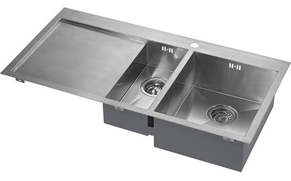 Zenduo Sink 6 I-F Stainless Steel, BBR, Right