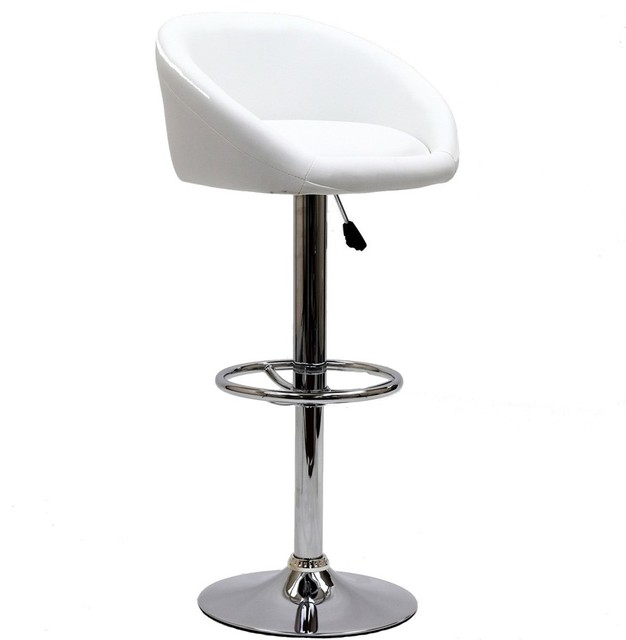 Modway Furniture Marshmallow Bar Stool, White