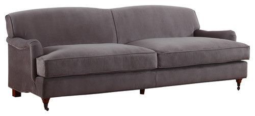 Merveilleux Are The Casters Removeable On The Two Front Legs Of The Sofa?