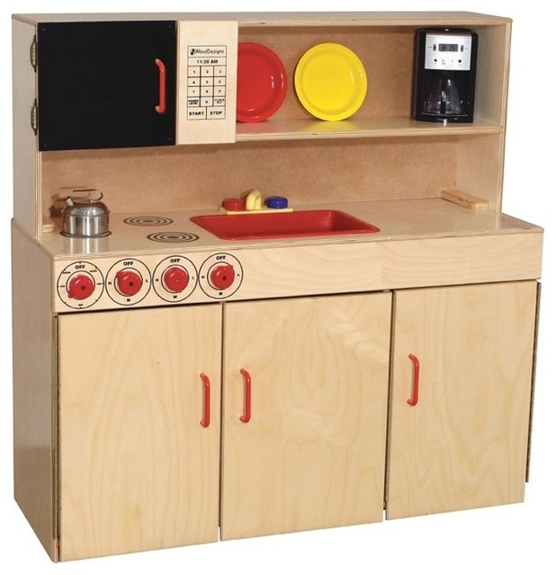Wood Designs Kids Play 5 in 1 Kitchen Center amp Reviews
