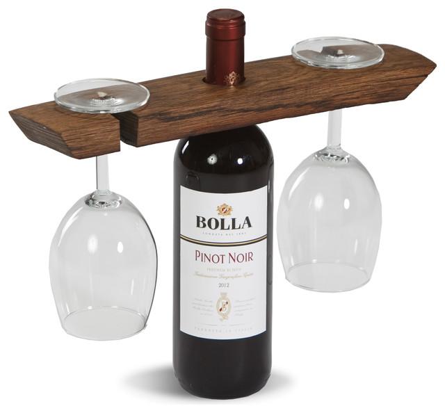 Wine Barrel Glass Caddy Wine Barrel Staves Eclectic Wine Racks