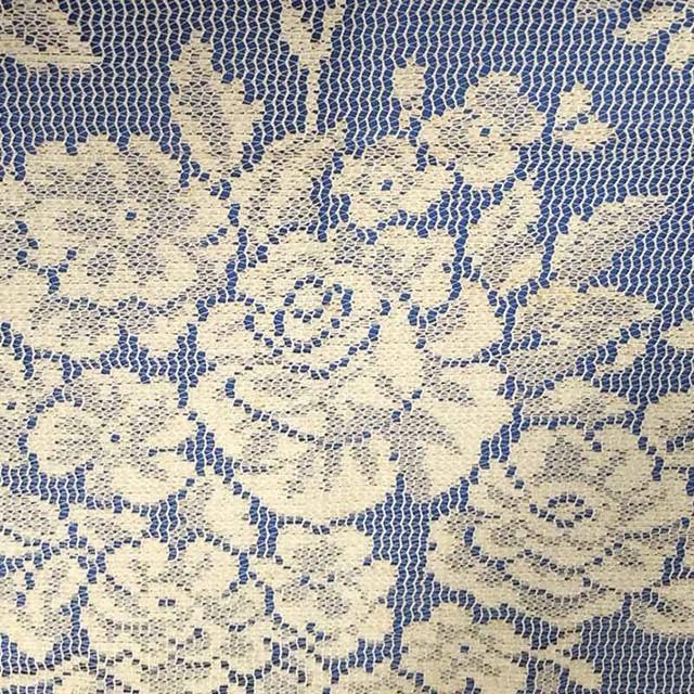 Rose Lace Ivory Fabric