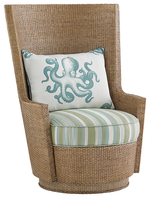 Lago Mar Swivel Chair by Tommy Bahama Home