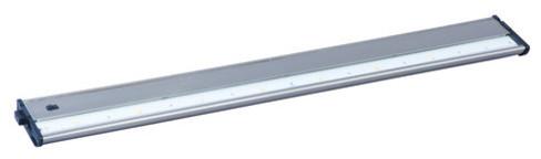 "Maxim CounterMax MX-L120DC 30"" 8-Light LED Under Cabinet Light in Satin Nickel"
