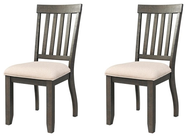 Farrelly Cream Upholstered Chairs, Set Of 2.