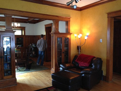 Decorating 1920s Craftsman Bungalow
