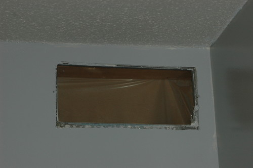 Need Help With Crown Molding Around Vent