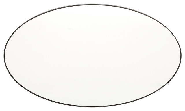 "Circuloid Oval Wall Mirror, 40"". -1"