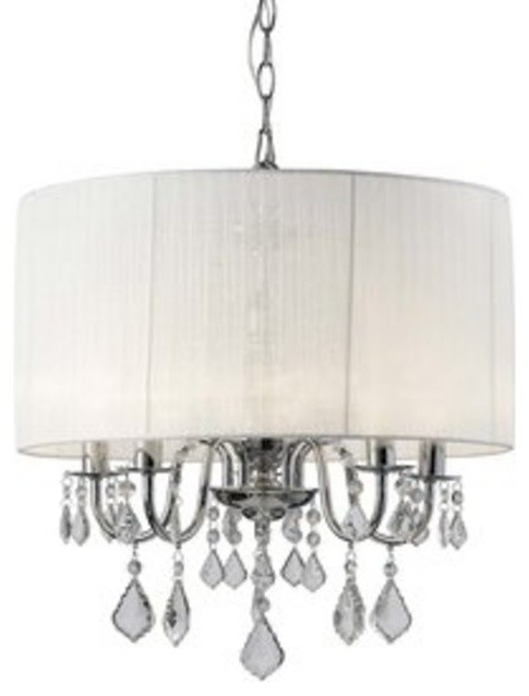 Glass crystals to embellish a chandelier